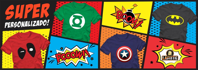 Seja hoje um super herói!
